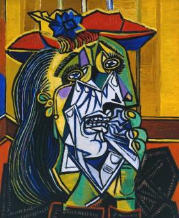 Weeping Woman - Pablo Picasso